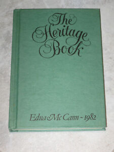 ...The Heritage Book.....  By Edna McCann [1982]