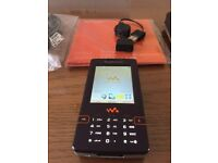 SonyEricsson W950i very rare in excellent condition unlocked to any network