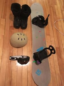 Brand new snowboard and kit! Moving sale :)