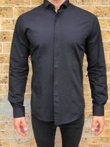 Ben Sherman Black Shirt Size Medium Haymarket Inner Sydney Preview