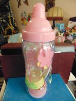 Baby bottle bank filled