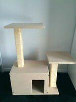 Arbre a chat beige NEUF / NEW beige Cat tree - Park