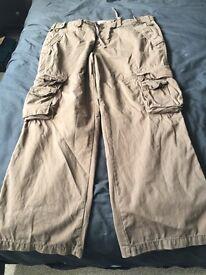 Men's chocolate ALS cargo trousers
