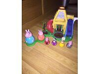 Peppa Pig Webble House & Figures