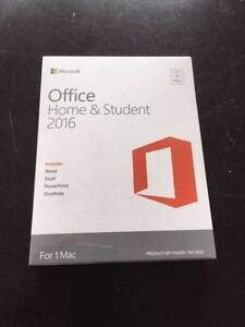 New Office Home & Student 2016 for Mac Modbury Heights Tea Tree Gully Area Preview