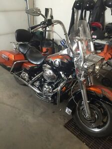 2001 Harley Road King with 103 ci