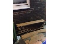 Ikea tundra laminates flooring(used)