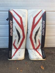 Bauer supreme pads and gloves