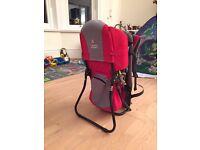 Baby backpack for hiking (Deuter Kid Comfort)