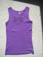 Girls Purple Childrens Place Tank Top Size 10/12