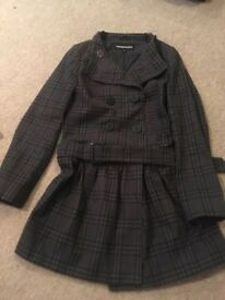Warehouse Trench Coat Size 10