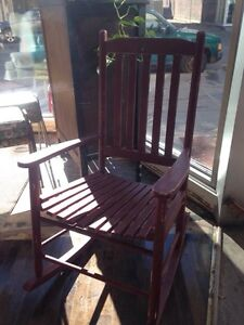 Rocking Chairs @The Red Bicycle