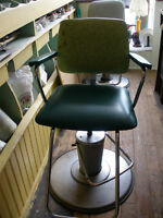2 Older style Barber Shop Chairs