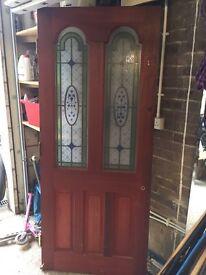 External Victorian style Front door
