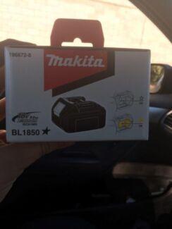 Makita power tool battery 18V 5.0ah Turrella Rockdale Area Preview