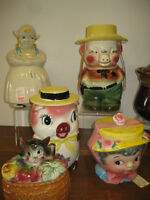 Vintage Cookie Jars -- FROM PAST TIMES Antiques - 1178 Albert St