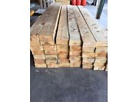 """Timber over 50 lengths 9ft x 7""""x3"""""""