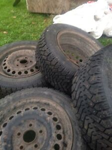 Winter Studded Civic Tires/Rims