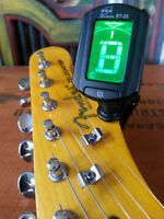 New Mini Clip-on Tuners for Guitar & Instruments