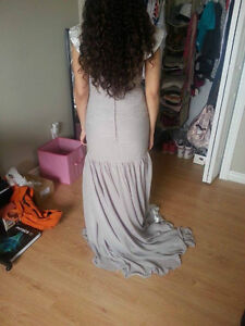 Grey/Silver Ruffled Dress for Sale! Windsor Region Ontario image 4