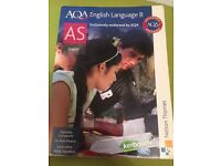 AQA English Language B Textbook (AS Level) by Nelson Thornes
