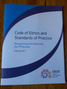Code of Ethics and Standards of Practice Kitchener / Waterloo Kitchener Area image 1