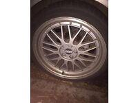 BBS LM 18 inch deep dish alloys £230