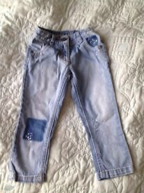 next girls jeans 3 years