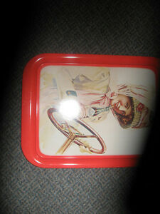 VINTAGE 1972-495 COCA COLA TRAY GIRL IN DUSTER Kingston Kingston Area image 4