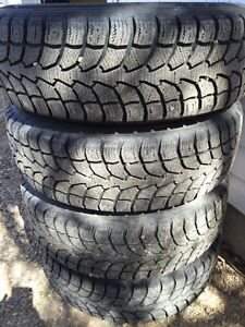 215/70r16 winter claw tires and rims