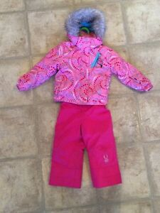 Sz 2 girls Spyder ski snow suit