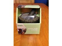 Brand new !! Dunelm pestle & mortar GRANITE orginal packaging never opened or used (heavy)