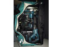 Makita 18v set kit 3x 5ah batteries brand new !!!