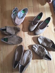 Tap, jazz and ballet dance shoes