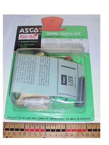 ASCO 162-634 VALVE REBUILD KIT CAT#8321A1-2-3-4-5-6-7-8