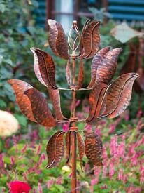 Eye Catching Garden Wind Spinner - a great focal point
