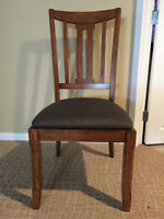 Set of Two Dining Room Chairs