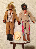 Vintage 1970's Big Jim Karl May's Action Figures - Great Cond