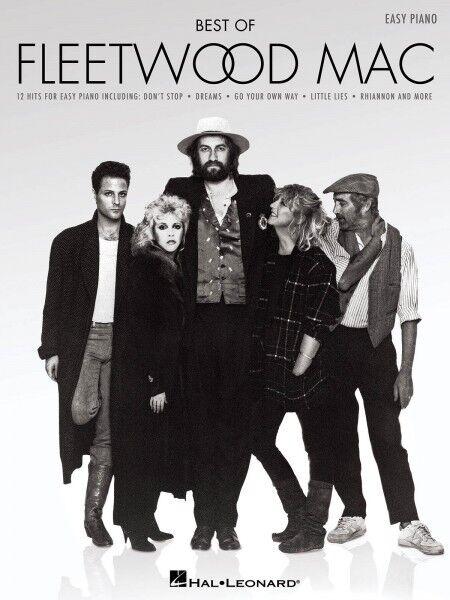 Best of Fleetwood Mac Sheet Music Easy Piano Book NEW 000109467