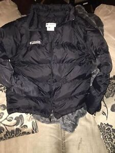 youth columbia jacket size 12/14