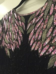 Hand sequined Dress - Size M (Size L Too) St. John's Newfoundland image 2