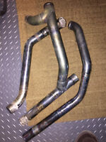 Harley 2007 Exhaust pipes