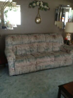 reclining chesterfield and chair