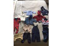 3-9 months baby sweaters, winter suit, JJ cole footmuff, Pram liner, 0-3 month hat bundle