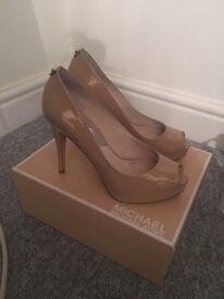 Michael Kors Patent Heels Size 5 (Retail £120)