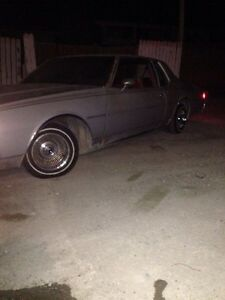 79 caprice low rider project car