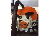 Brand new Stihl chainsaw 181