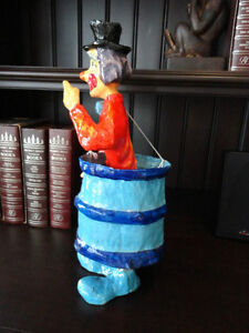 Authentic Mexican Made Paper Mache Clown in a Barrel Kitchener / Waterloo Kitchener Area image 2