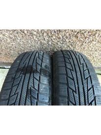 Snow Tyres 155 60 15 Nankang SV-2