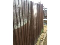 Heavy duty fence panels 6ft high FREE